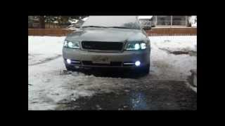 Audi a4 headlight customize