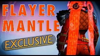 "EXCLUSIVE ""FLAYER MANTLE"" CLOAK! 