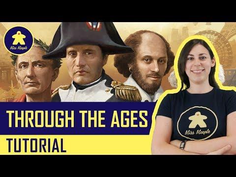 La ludoteca #33 - Through the Ages - Rivivi la storia della civiltà Tutorial