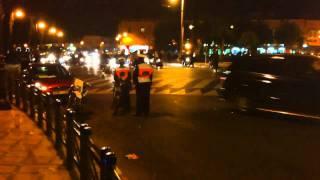 Police bike morocco