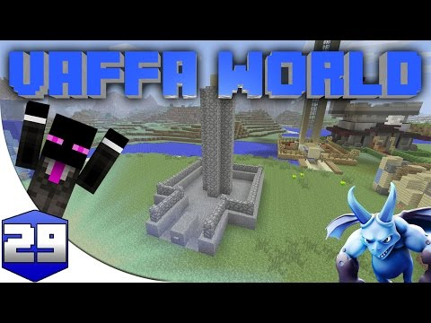 MINECRAFT : VAFFA WORLD - FARMING COBBLESTONE #29