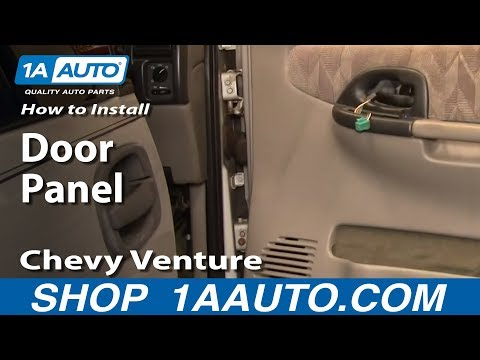 How To Install Remove Door Panel Chevy Venture Pontiac Montana 97-05 1AAuto.com