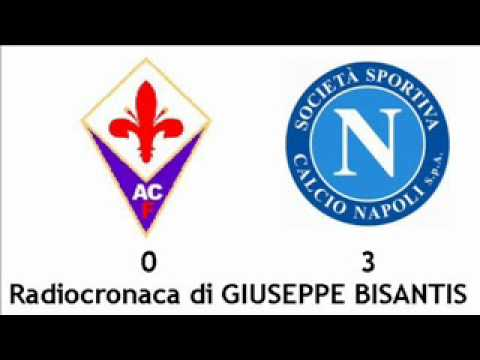 FIORENTINA-NAPOLI 0-3 – Radiocronaca di Giuseppe Bisantis (17/2/2012) da Radiouno RAI