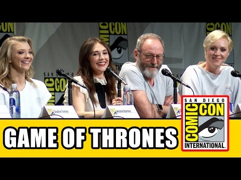 Game of Thrones Comic Con 2015 Panel - Carice Van Houten, Conleth Hill, Maisie Williams