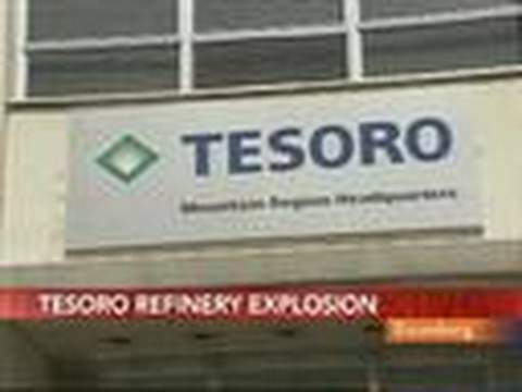 Tesoro Plant Blast Injures Four Workers, Three Missing: Video