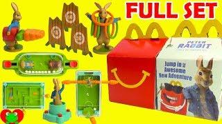 2018 Peter Rabbit Movie McDonald's Happy Meal Toys