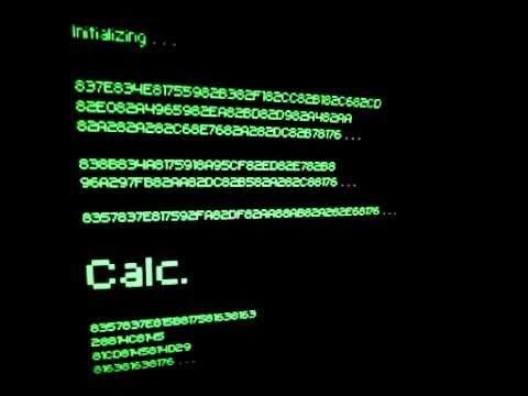 初音ミクオリジナル曲 「Calc.」中文字幕