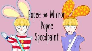 【Speedpaint】Popee and Eepop