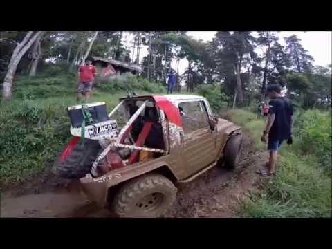 Vlog #2 Offroad Oray Tapa, Bandung. niat evakuasi willys with gopro