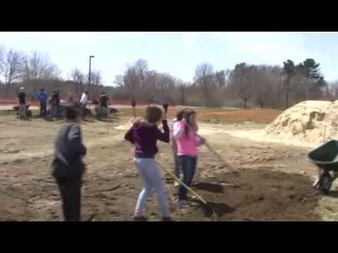 WMS Steam Academy   Outdoor Classroom Bog Project