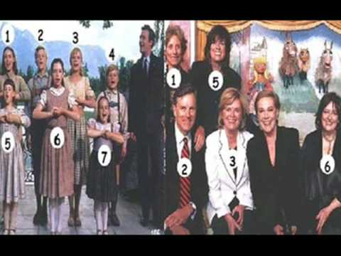 sound of music stars before and after !!