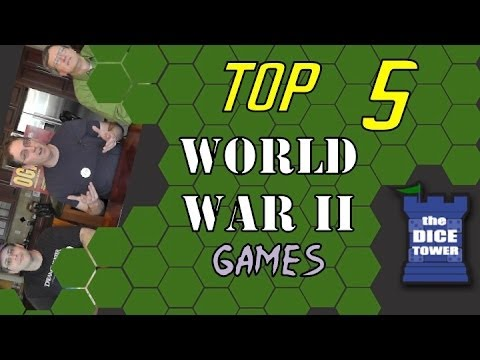 Top 5 World War II Games - ith HAMTAG