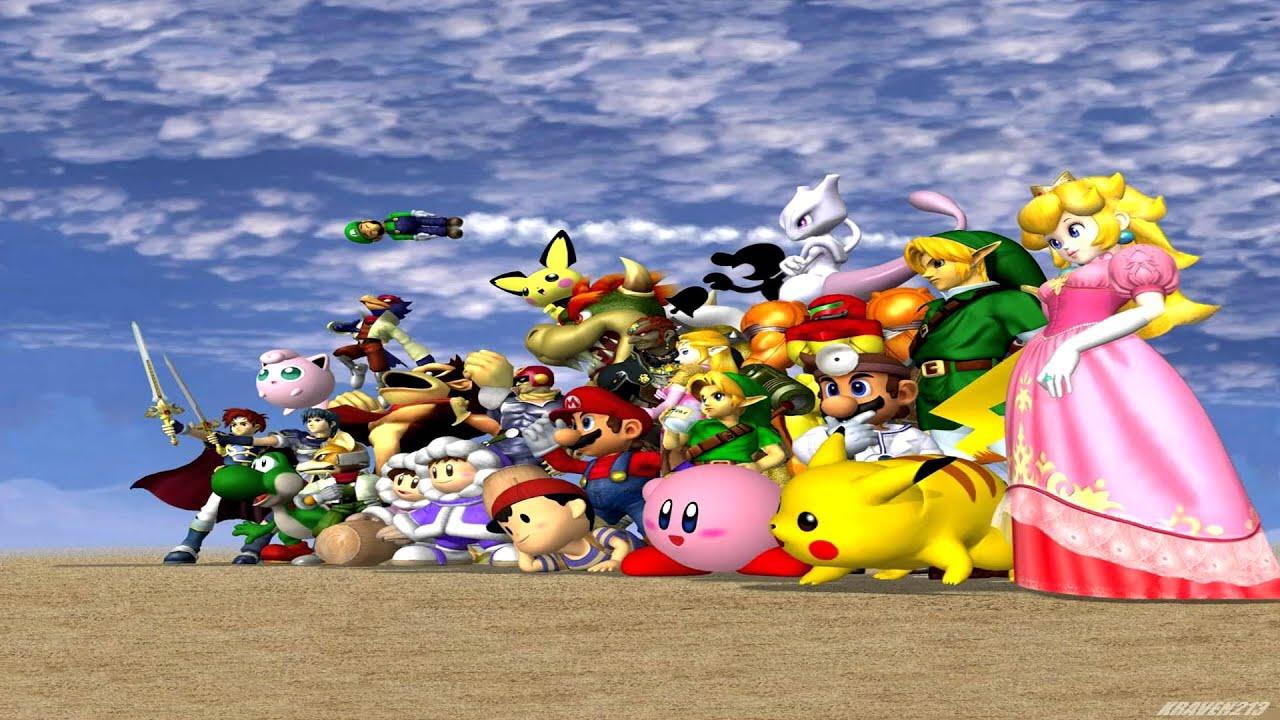 Top Wallpaper Logo Super Smash Bro - maxresdefault  HD_98288.jpg