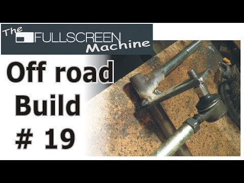 Off-Road Buggy #19 ( Tie Rod / Streering Spindle connection ) Fullscreen Machine