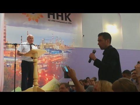 Ворсин против вице-мэра. Единорос убегает с трибуны