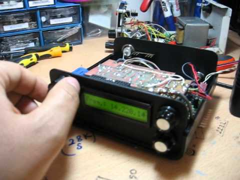 HOMEMADE TAURUS 20M QRP.. TB5X Mehmet DVL
