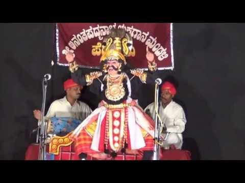 Yakshagana: Kondadakuli Ramachandra Hegade As Salva  In Bheeshma Vijaya video