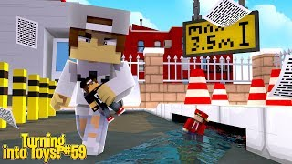 Minecraft Toys #59 - IT'S OVER, THE NICE KID GETS RID OF TOY ROPO & JACK!!!