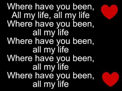 Rihanna - Where have you been lyrics