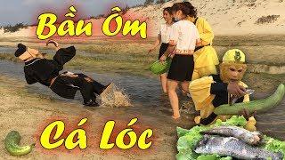 Món Bầu Ôm Cá Lóc Nướng Siêu Ngon Và Pha Ném Trư Bát Giới Xuống Hồ Cười Vỡ Mồm - Ngộ Không TV