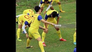 Đình Trọng bị thầy Park phạt đứng góc lớp, U23 Việt Nam hóa lớp học thể dục