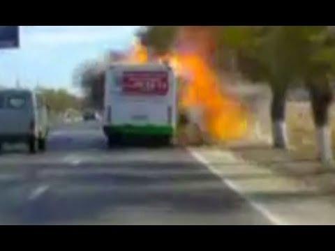 Новая видеозапись взрыва автобуса в Волгограде