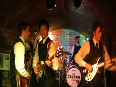 Mersey Beat Quilmes - 1st Show in The Cavern Liverpool - BW2012