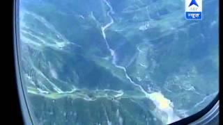 PM, Sonia makes aerial survey of flood-ravaged Uttarakhand