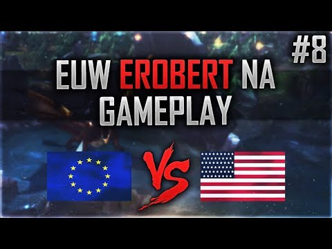 EUW Erobert NA: RAGEQUIT #8 [Lets Play] [League of Legends] [Deutsch/German]