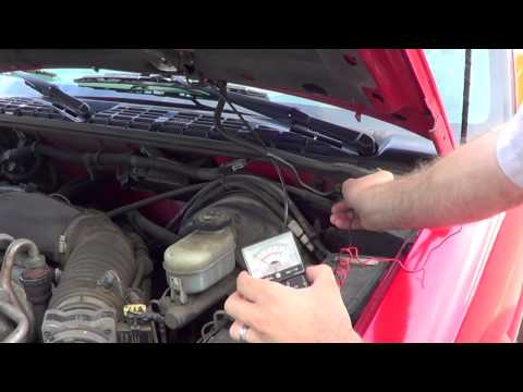 Testing a CB Antenna Ground with a Multimeter
