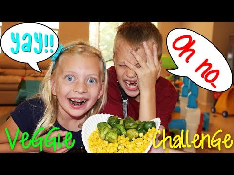 The Vegetable Challenge!!