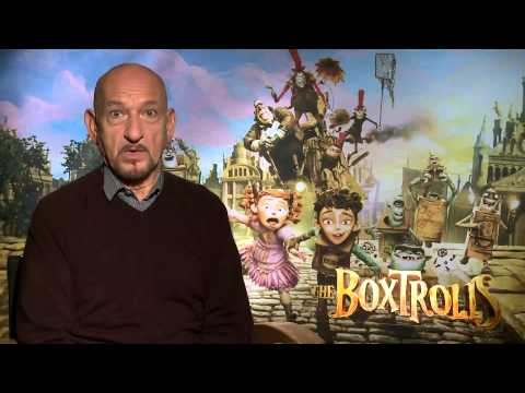 For BoxTrolls, Sir Ben Kingsley Found a New Performance Tool
