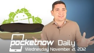 HTC Droid DNA Hits Stores, AT&T Softens FaceTime, Google Fixes Eclair & More - Pocketnow Daily
