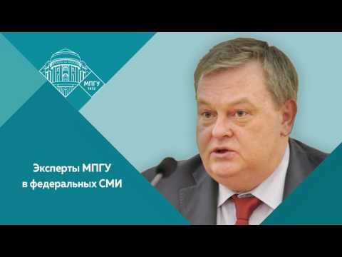 Евгений Спицын на радио Комсомольская правда  о Сталинградской битве.