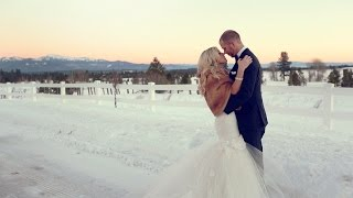 Whitney Kay + Brian Scott | Shore Lodge wedding {McCall Wedding Video)