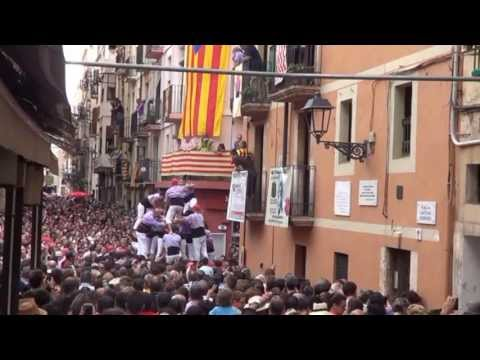 TRIP IN SPAIN 8: Tarragona - The Human Towers - Comenius Project