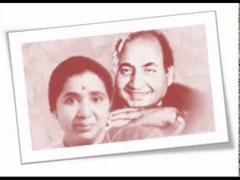 Asha & Rafi - O Meri Zindagi Ke Sahare - Kar Bhala (1956)