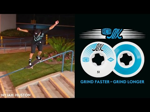 Nyjah Huston Skates the NEW Ricta Slix
