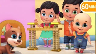 London Bridge is Falling Down - Learn English with Songs for Children by Jugnu Kids