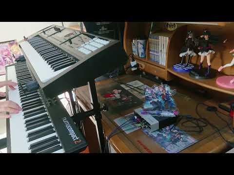 【バンドリ!】BRAVE JEWEL/Roselia キーボードを弾いてみた