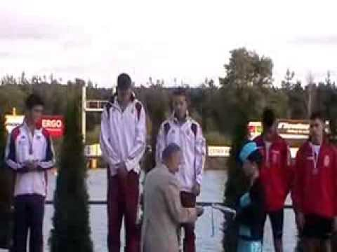 Olympic Hopes 2013 Racice K-2 500m ceremony