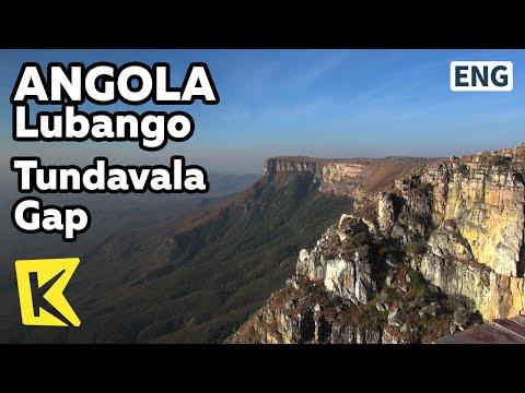 【K】Angola Travel-Lubango[앙골라 여행-루방고]화산 협곡, 툰다 발라/Tundavala Gap/Volcano/Canyon/Rock/Cliff/Lubango