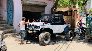 Monster Gypsy Ready To Hit The Tracks | Modified Maruti Gypsy | Gypsy Converted To Monster Truck