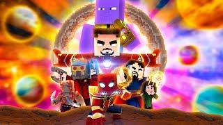Minecraft: MENINO ARANHA: GUERRA INFINITA - O FILME