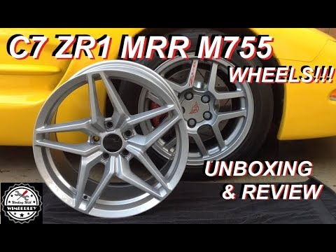 C7 ZR1 Replica Wheels MRR M755 for C5 Chevy Corvette Unboxing & Review 19x9.5 20x11 Rims First Look!