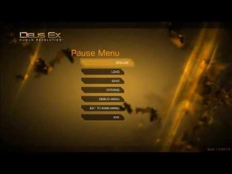 Deus Ex: Human Revolution - Pause Menu Ambience
