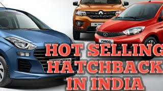 TOP 5 HOT SELLING HATCHBACK CARS IN INDIA #TIAGO#WAGONR  #SANTRO #ALTO800 #KWID