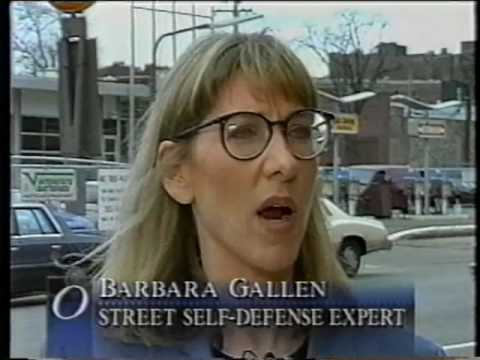 Barbara Gallen's Self Defense Media Reel