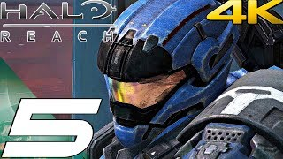 HALO REACH (PC) - Gameplay Walkthrough Part 5 - New Alexandria & The Package (4K 60FPS)