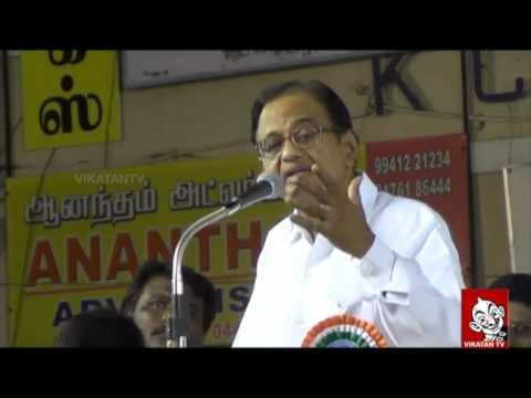 I had a Secret meeting with LTTE Prabhakaran - P. Chidambaram